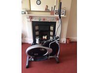 Elliptical trainer. Tension control and digital display. Hardly used, originally from Argos.