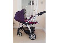 Mamas & Papas Pram and new Car Seat