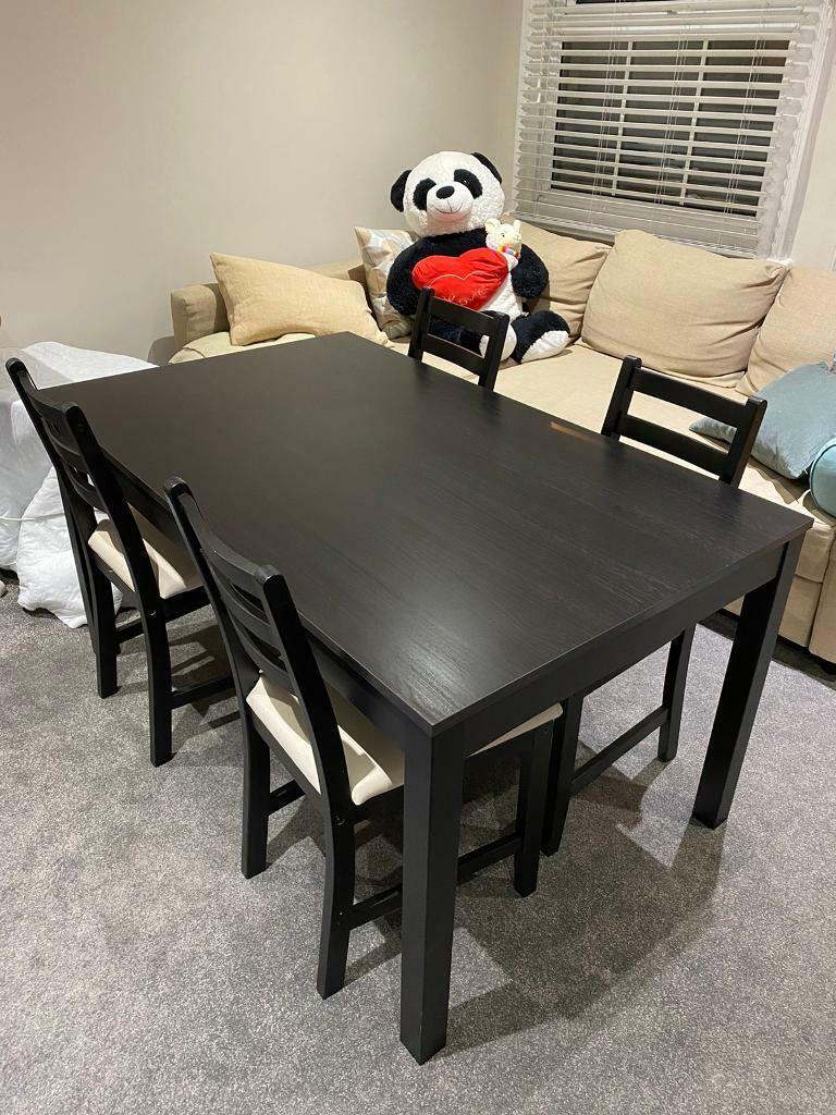 Picture of: Table And 4 Chairs Set Ikea In Guildford Surrey Gumtree