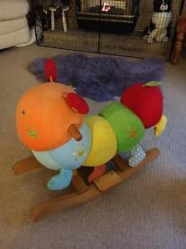 Charlie Caterpillar Rocker