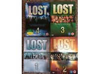 LOST DVD BOX SET SERIES 1-4