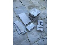 Kandla Grey Natural Indian Sandstone Paving 22mm Calibrated