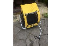 M-wave kids bike trailer - excellent condition