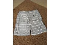 Men's quicksilver and ripcurl shorts