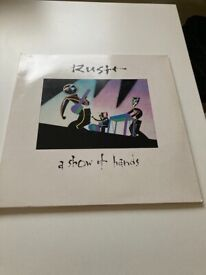 Rush A show of hands vinyl