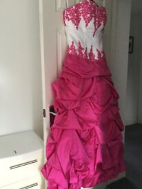 Wedding / Brides / Bridesmaids / Prom Dress Hot Pink