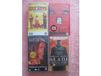 18 rated VHS tapes/dvd