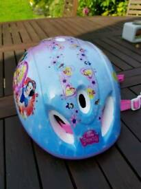 Girls XS cycle helmet