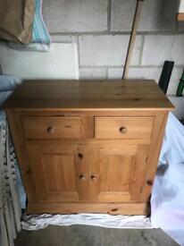 Solid Pine Cabinet/sideboard/unit