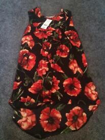 Ladies Top New With Tags Size 8
