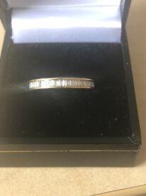 Full Diamond Eternity Ring 18K