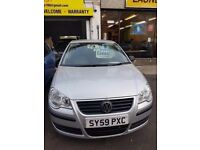 VW POLO excellent condition, very low mileage(1 year warranty free)