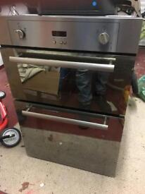 Gas oven with mini oven/grill to fit in y'all kitchen unit.