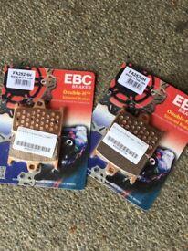EBC Double H Brake Pads - FA252HH Yamaha Mt09