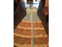 Ladies indian bollywood lengha dress uk size 10-12