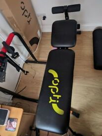 Workout bench and Cross Trainer