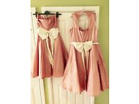 Bridesmaids dresses, various designer