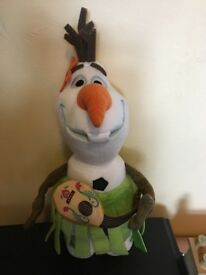 Hawaiian Olaf plush toy
