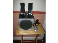 Logitech Z3 2.1 PC Speaker System with Subwoofer and Remote, Superb Bargain £30 ono