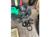 Kx 60 engine, carb and radiator