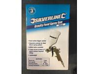 Silverline gravity feed spray gun