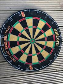 NEW VINTAGE PHIL TAYLOR DARTS BOARD FOR SALE!!!
