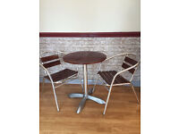 Bistro tables and chairs for coffee shop or restaurants for £99 ONLY