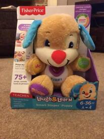 NEW and in box - Fisher Price Laugh&Learn Puppy