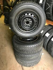 215 65R 16 TOYO OBSERVE G-02 WINTER SNOW TIRES & RIMS 5X112 BOLT 9/32NDS TREAD VW TIGUAN AUDI MERCEDES-BENZ