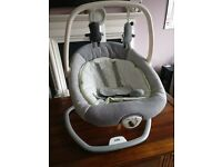 **EXCELLENT JOIE SERINA 2 IN 1 SWING/ROCKER**BRILLIANT CONDITION***RRP £150***GRAB A BARGAIN****