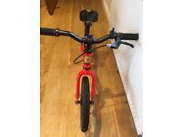 "Tadpole plus frog bike Balance Bike 14"""