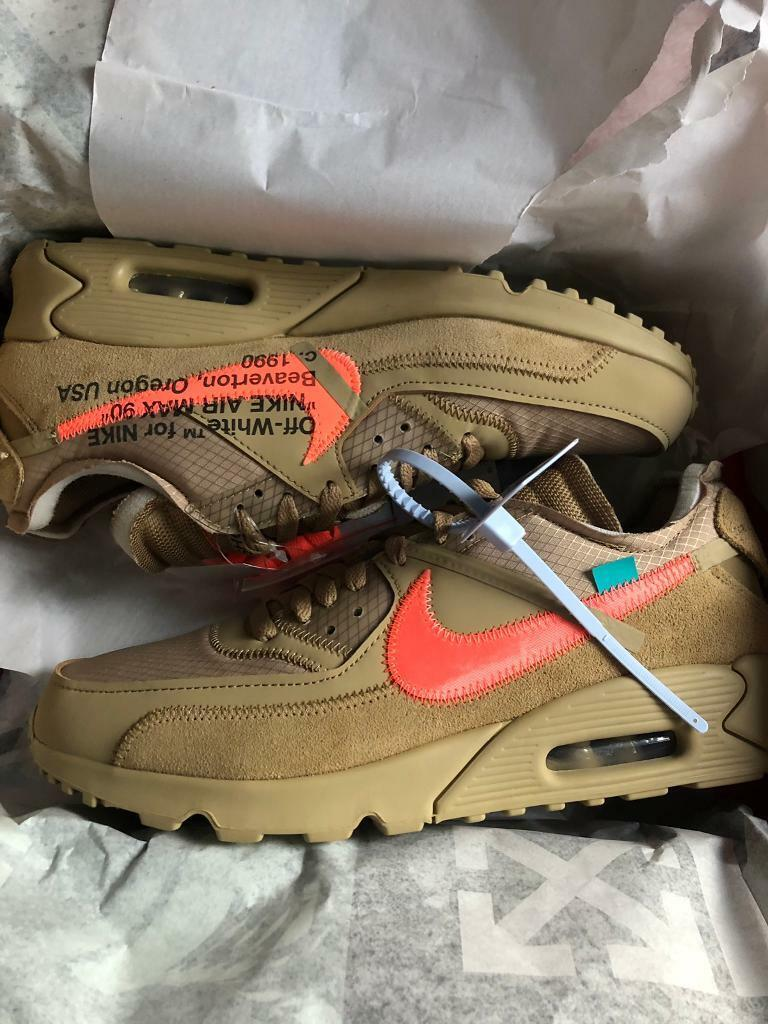 3817d9c697d Air Max 90 OFF-WHITE Desert Ore | in Kingston, London | Gumtree