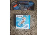 Swim Combo Mask and Snorkel- Free Gift