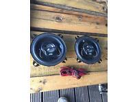 "Jvc 4"" car speakers"