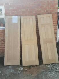 Three Howden doors 24inch £80
