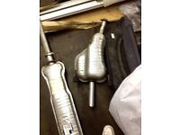 Vauxhall zafira mk1 full complete exhaust system including sensors