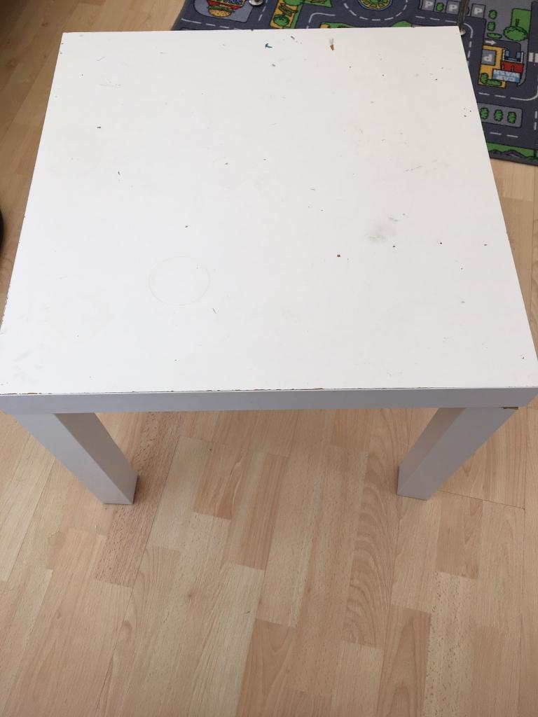 Small coffee table/children work/play table