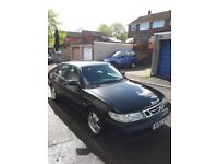 Saab 93 year 2000 just over 91000 miles on the clock