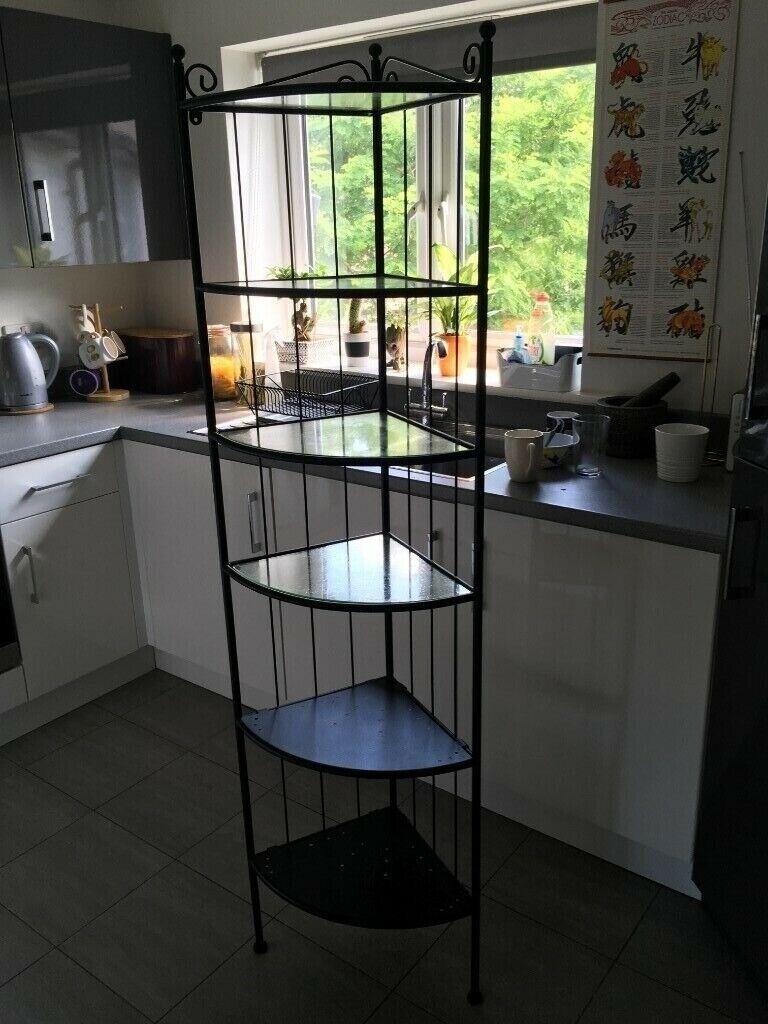 Ikea Ronnskar Corner Bathroom Shelf Cabinet Unit Black In Ringwood Hampshire Gumtree