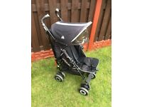Pram maclaren with foot muff and rain cover can deliver for a small charge