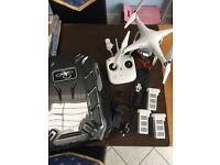DJI phantom 3 standard plus extras