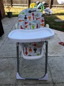 Cosatto Noodle Highchair For Sale