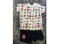 Baby Boys T-Shirt and Shorts set - 3-6 months