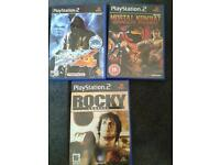 Ps2 fighting games - Tekken, Mortal Kombatt