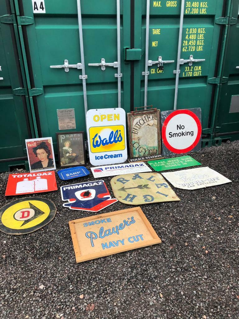 Vintage Signs For Sale >> Vintage Signs For Sale In Wilnecote Staffordshire Gumtree