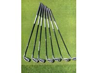 Great set of Ladies Taylormade super burner irons 5- SW