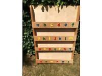 Children's bookcase/shelving
