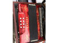 Hohner Black Dot Double Ray Accordion