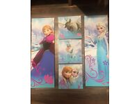 Disney Frozen 5 wall pictures