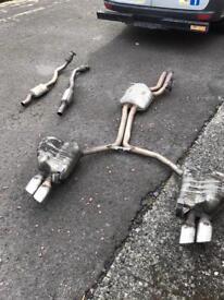 Audi S5 exhaust genuine